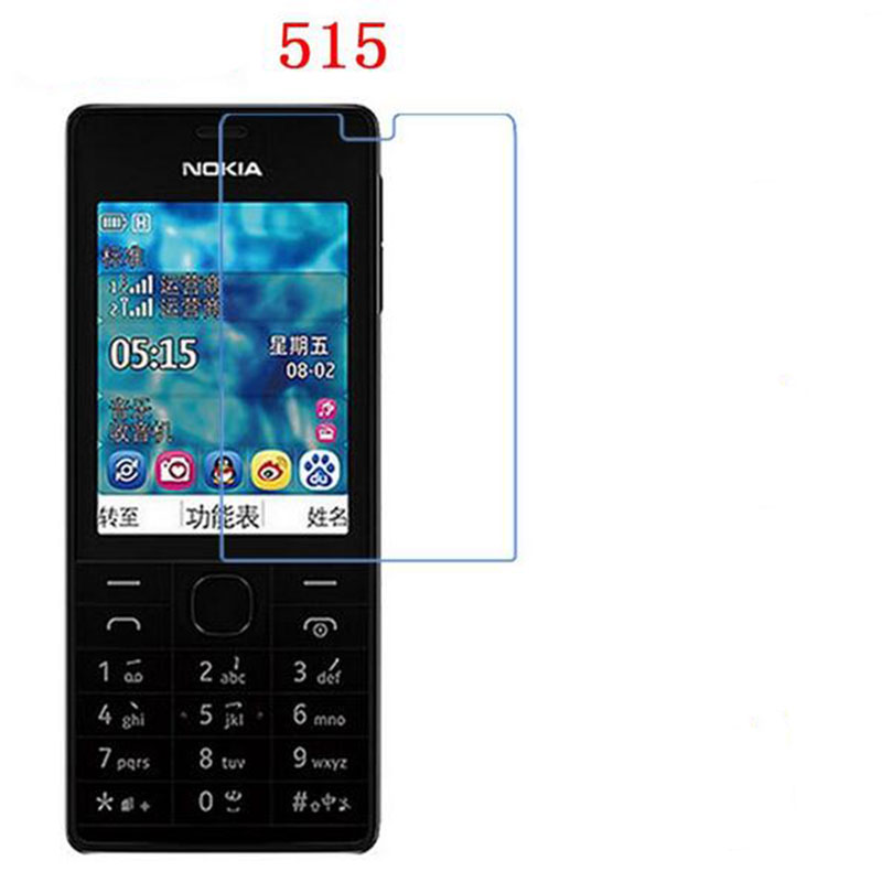 3 PCS HD phone film PE touch preserving eyesight for Nokia 515 screen protector with Wipe