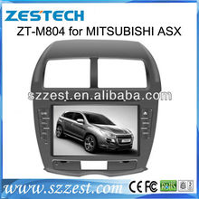 ZESTECH 2 DIN Car DVD For Mitsubishi ASX DVD In dash touch screen with GPS IPOD IPHONE USB steer wheel control car radio