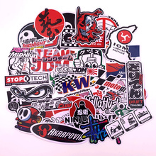 STOP Sticker Moto Laptop JDM for Toy Luggage Skateboard-Phone Bicycle Wall-Guitar 40pcs/Lot