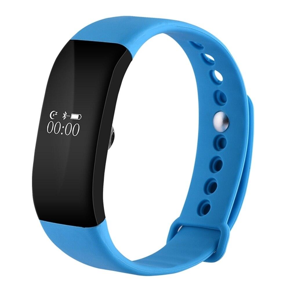 imágenes para V66 Bluetooth4.0 IP67 A Prueba de agua Del Deporte Del Reloj Inteligente Smartwatch Pulsera Pulsómetro Salud Pulsera para Android IOS Teléfono