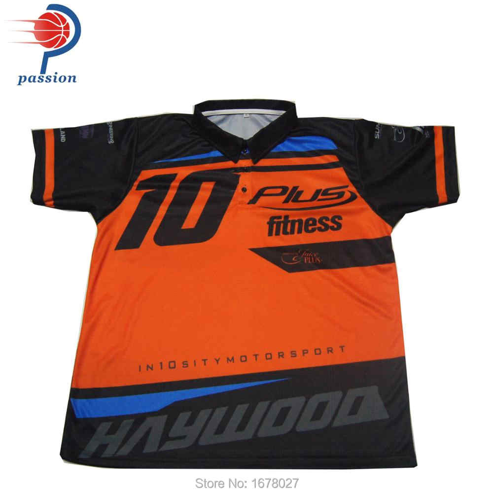 ae916f3f Dye Sublimation motorcycle suits for kids,customized racing crew shirts,motorbike  sports full buttons