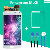 AMOLED 100% tested High Quality For Galaxy S5 LCD G900 G900F G900H Disaplay Screen Touch Digitizer Assembly