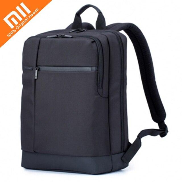 Xiaomi Original Clássico de Multi-camada de Negócios Laptop Mochila Homens Sacos de viagem Bolsa de ombro bolsa de viagem de Poliéster 17L 40x30x14 cm