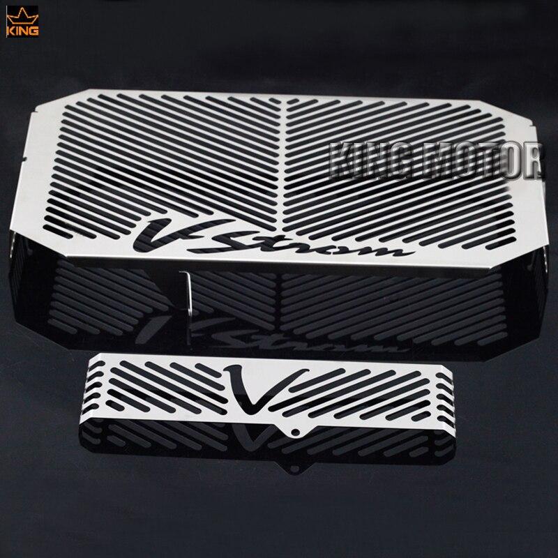 a872b9fffcf53 Para SUZUKI DL650 V-Strom 2004-2010 Grade de Radiador Guarda Capa Protetor  de Radiador de Óleo Do Tanque de Combustível Da Motocicleta de Proteção Net