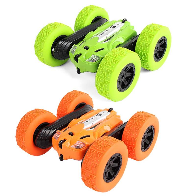 Remote Rotate Car 20m Control Distance For Children Wall Climbing 1:24 360 Degree Rotating Flips Toy RC Car Kid Toys With Light