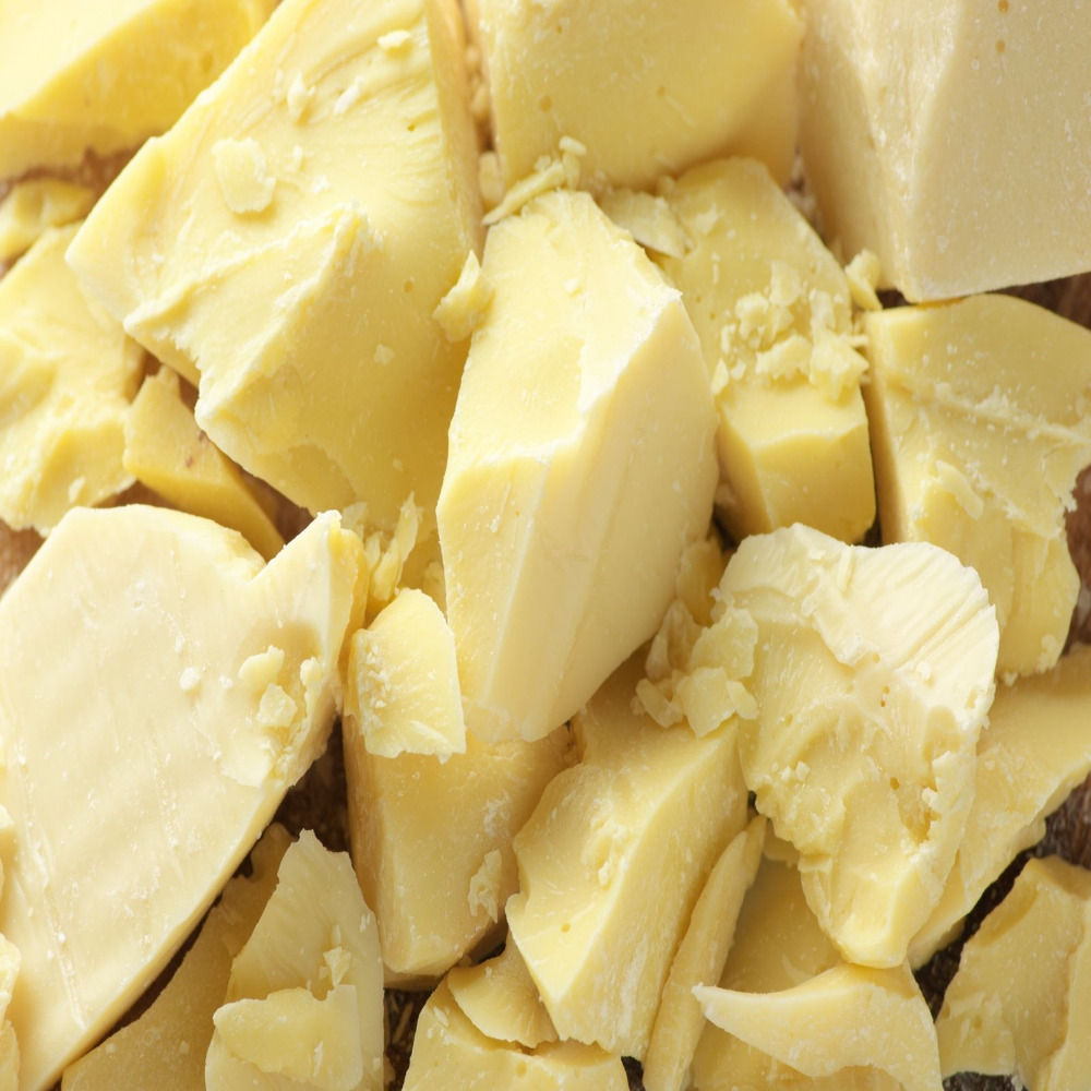 Organic Cocoa Butter Natural Fresh Unrefinded Coconut Butters Handmade Soap Lipgross Ingrediants