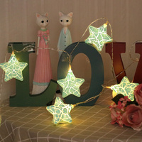 Star LED String Lights Christmas Holiday Light Outdoor Fairy LightsWaterproof For Party WeddingGarden Decoration