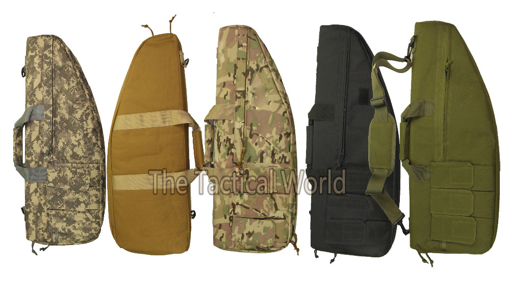 Prix pour Tactique de Chasse 70 cm Airsoft Carabine Sac Paintball Gun Bag Nylon Étui À Fusil Chasse Tir Rifle Sac Militaire Carabine Gun sacs
