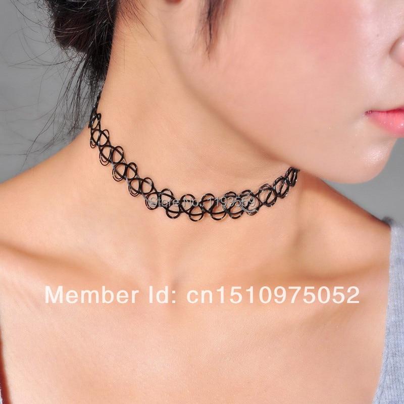 Wholesale New Fashion Neck Jewelry Stretch Tattoo Henna ...