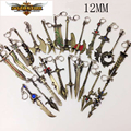 New League of Legend charm weapons, keychain with ADC, JUNGLE, MID, SUPPORT pendant fit necklace diy jewelry DIY Free shipping