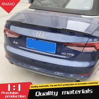 For Audi A5 Spoiler A5 Coupe Two ABS Material Car Rear Wing Primer Color Rear Spoiler For Audi A5 Spoiler 204 2018