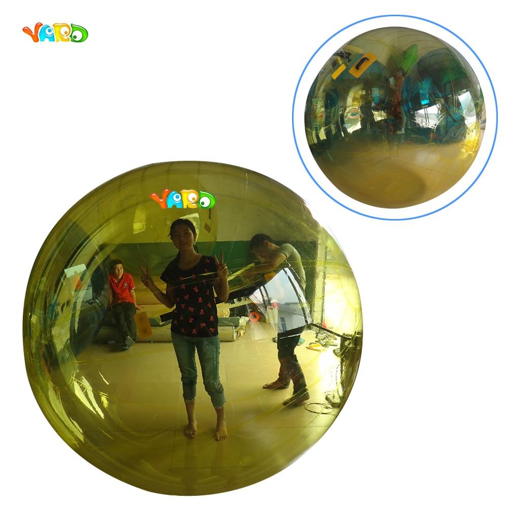 Плавающие Надувные Гуляя шарик воды rolling пляжный мяч пузырь воды игры