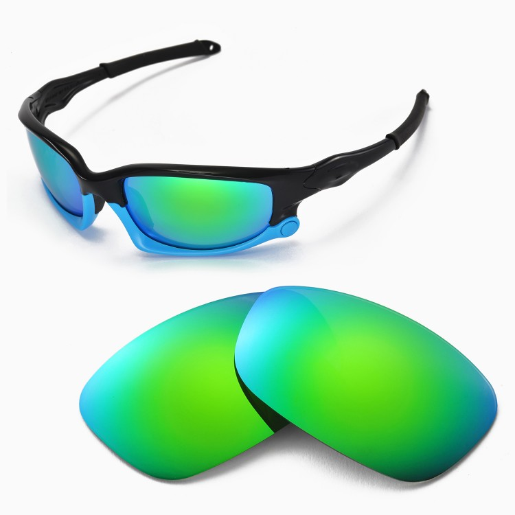 Walleva Polarized Replacement Lenses for Oakley Split Jacket Sunglasses 4 colors available