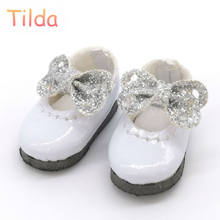 Tilda 2.5cm Doll Boots for Blythe Doll Toy,Lovely Mini PU Dolls Shoes for Blyth BJD Toy for Pukifee Azone Obitsu Shoes for Dolls(China)