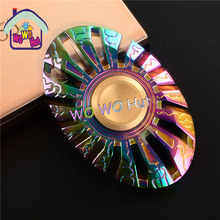 Butterfly type Colorful Hot Selling EDC Toys Triangular Hand Spinner orqbar Metal Professional Fidget Spinner Autism and ADHD