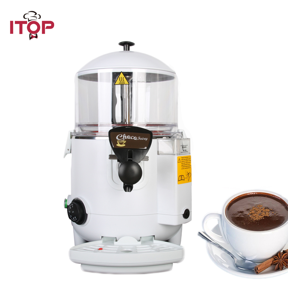 ITOP 5L/10L Commercial hot chocolate Cooker machine, coffee hot chocolate dispensing machine coffee vending machine with 8 hot drinks