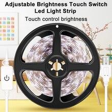 USB Led Strip Light DC 5V Waterproof Lamp Tape Ribbon 50CM 1M 2M 3M 4M 5M Dimmable Neon Lighting Cabinet Stair Night