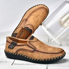 ผู้ชายCasualรองเท้าLoafersรองเท้าผ้าใบ 2020 ใหม่ผู้ชายแฟชั่นหนังสบายLoafersรองเท้าสบายๆZapatos De Hombreผู้ชายรองเท้า