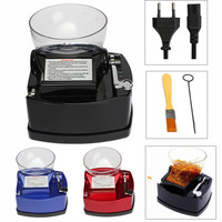 Portable Box Electric Cigarette Rolling Machine Tobacco Filling Tubing Roller Automatic Injector Maker