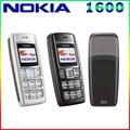 1600 Оригинал Nokia 1600 Сотовый Телефон Dual band GSM Разблокированный Телефон GSM 900/1800 Бесплатная Доставка