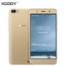 Ursprüngliche XGODY X21 3G Entsperrt Smartphone 5 Zoll Android MTK6580M Quad Core 1G + 8G Dual Sim Touch Handy Handy 2000 mAh