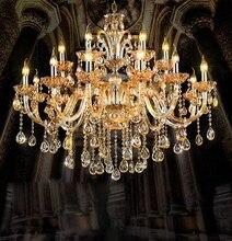Modern crystal chandelier Dining room Chandeliers light Suspended Light Lustres De Cristal Lamp LED suspension luminare brief style lustres de cristal led lamp modern pendant chandelier for dinning room bar light