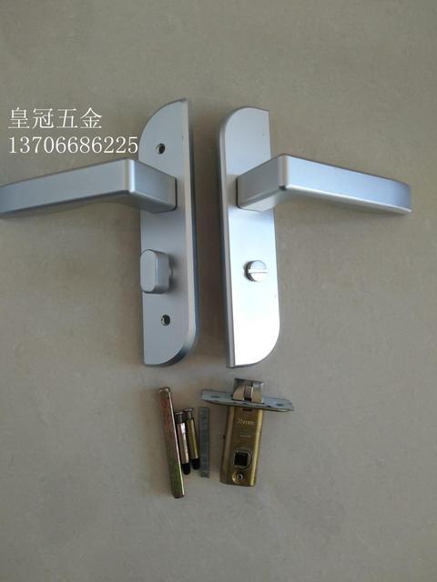 Bathroom Door Lock Handle. Indoor Bedroom Lock Handle Bathroom Door Lock Keyless Toilet Aluminium Alloy Single Tongue