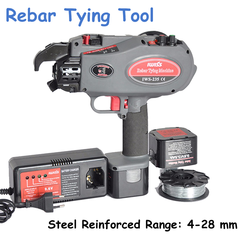 1pc 4-28mm Rebar Tying Tools Cordless Round Binder Reinforced Concrete Packer IWS-235 how to be a spy