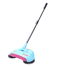 Stainless Steel Sweeping Machine Push Type Hand Push Magic Broom Dustpan Handle Household Cleaning Package Hand Push Sweeper M