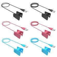 Usb oplaadkabel Charger Cable Koord Voor Fitbit Lading 2 Charge2 Armband Draadloze Smartband Polsbandje 500Pcs Fabriek Groothandel