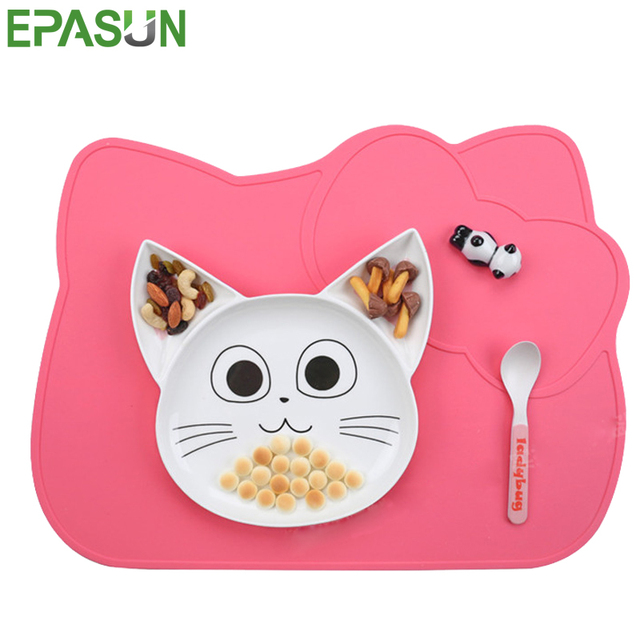 EPASUN New Child Kid Silicone Placemat Dinnerware Heat Resistant Mat Silicone Table Mat Pad Placement Children  sc 1 st  AliExpress.com & EPASUN New Child Kid Silicone Placemat Dinnerware Heat Resistant Mat ...