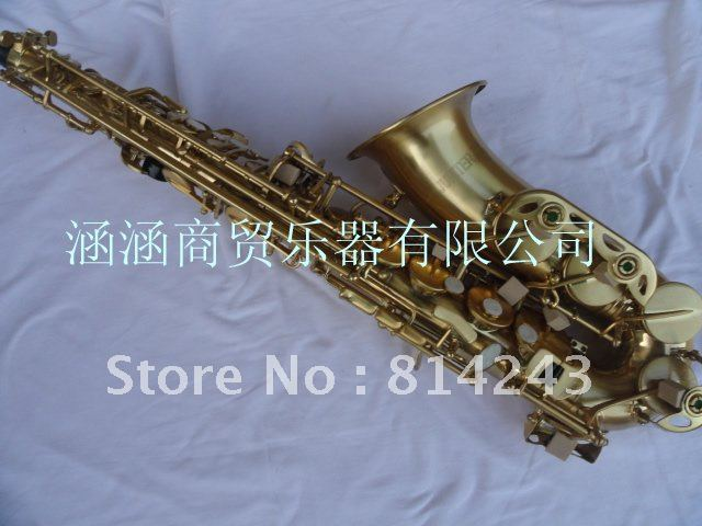 Selmer Eb Alto Saxophone Drop E Saxophone  Alto Reference 54  Bronze Brushed Professional Saxfone Musical Instruments