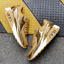 New Women's Sneakers Spring fall Fashion Flats Women Shoes Casual Ultra Lady Casual Shoes Gold Quality femmes shoes SIZE 35-44