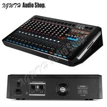 750W + 750W DJ Karaoke 12 Channel Digital Audio Sound Amplifier Mixer With Bluetooth USB 99 Digital Effects Mixing Console