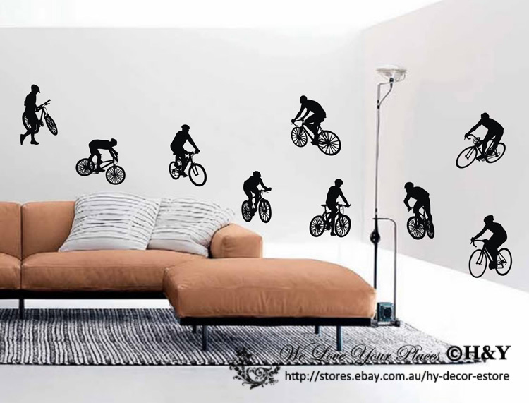 Popular Remove Bike DecalsBuy Cheap Remove Bike Decals Lots From - Custom vinyl wall art decals   how to remove