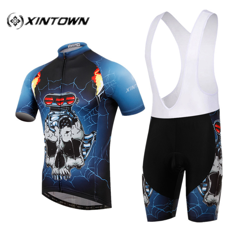 Racing, Sports, Mountain, Breathable, Jersey, Bicycle