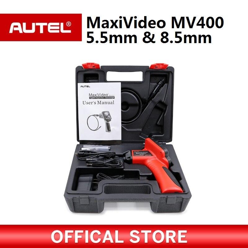 Autel Maxivideo MV400 5.5mm Videoscope Numérique avec 8.5mm diamètre imager caméra d'inspection chef MV 400 Polyvalent Videoscope