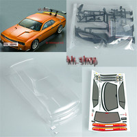 New 1 10 RC Car PC201205 PC Body Shell Transparent 190mm For Dodge Viper SRT8