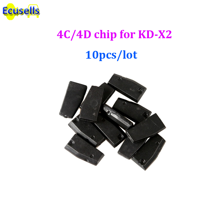 10pcs lot KEYDIY Copy 4C 4D Chip Car Key Chip for KD X2 Key Programmer