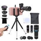 Camera Kit 18X Zoom Lens for Smartphone Telescope Lens Camera Lente Phone Telescope Mobile Macro Lens Fish Eye Camera Lens