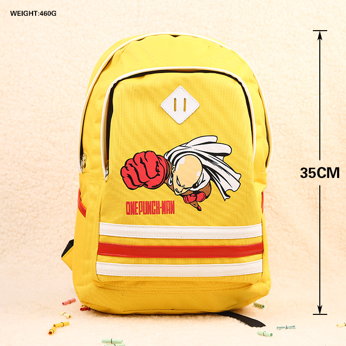 Anime ONE PUNCH MAN Cosplay  Male and female secondary school students bagAnime ONE PUNCH MAN Cosplay  Male and female secondary school students bag