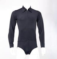 Latin dance shirt exercises with underwear bodysuit shirt MS11007