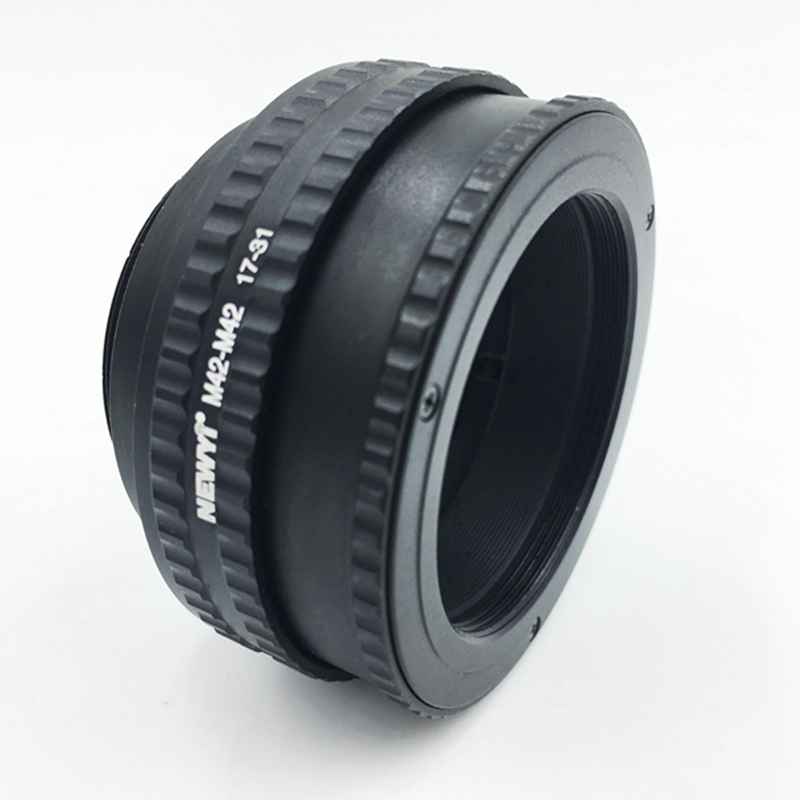 Image 3 - NEWYI M42 M42(17 31mm) Mount Adjustable Focusing Helicoid Adapter 17 31mm Extension accessory-in Lens Adapter from Consumer Electronics
