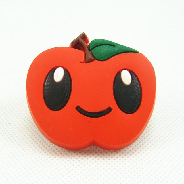 Cartoon Red Apple Childrens Cabinet Knobs Handles Closet Dresser - Red apple bedroom furniture