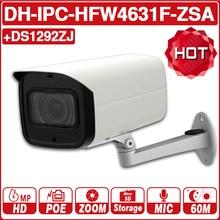 DH IPC-HFW4631F-ZSA IPC-HFW4631F-ZAS 6MP IP Camera 5X Zoom Bullet 60M IR Micro SD Card Slot Audio IP67 IK10 with logo