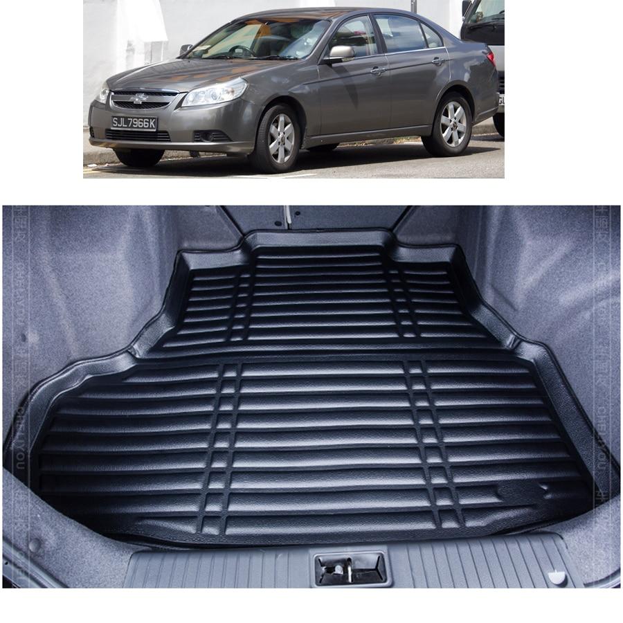 Viva car sticker design - Free Shipping Fiber Leather Car Trunk Mat Cargo Mat For Chevrolet Epica Daewoo Tosca Holden Epica