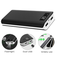 Powerbank 15000 mAh External Battery Charger USB Power Bank Dual USB for iPhone 5 6 6s 7 7p 8 8p iPhone X Xr Xs Xs max etc.