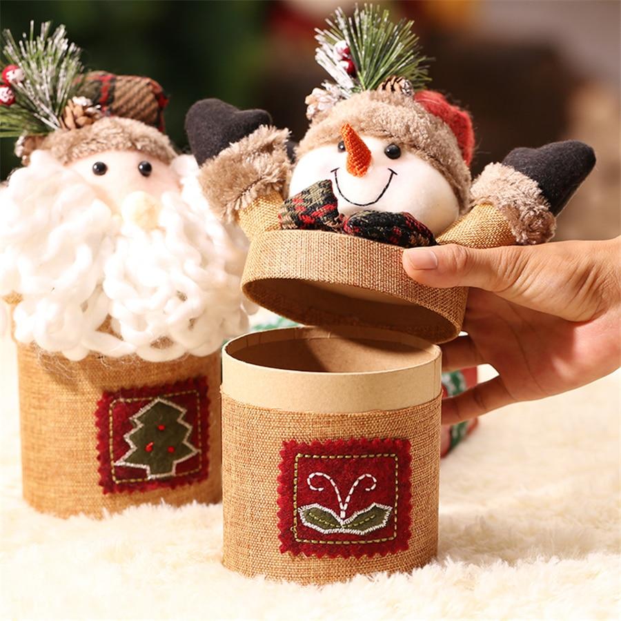 Decorador de arboles de navidad 187 home design 2017 - Caja De Caja De Dulces De Navidad Artificial Decoraci N Del Rbol De Navidad Caja De Regalo