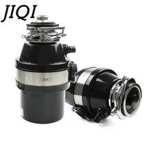 JIQI измельчитель пищевых отходов комбайн для мусора измельчитель из нержавеющей стали кухонная раковина прибор воздушный переключатель 560 Вт