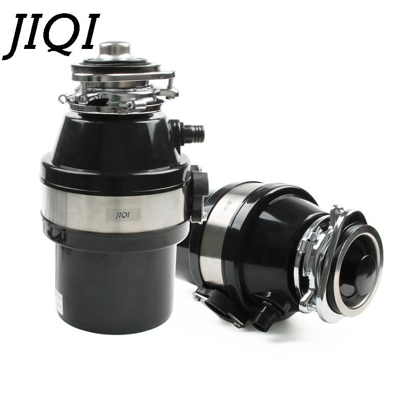 JIQI Food Waste Disposer Garbage Feed Processor Disposal Crusher Stainless steel Grinder Kitchen Sink Appliance Air Switch 560W